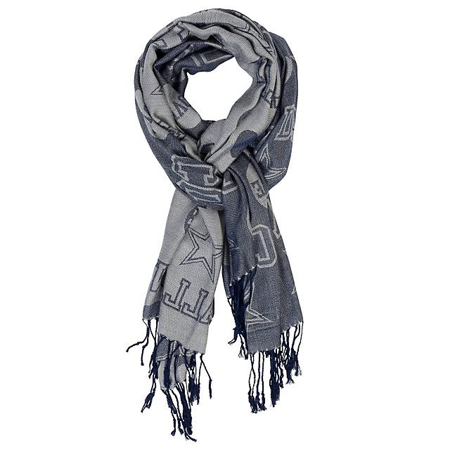 Dallas Cowboys Pashmina Love Print Scarf