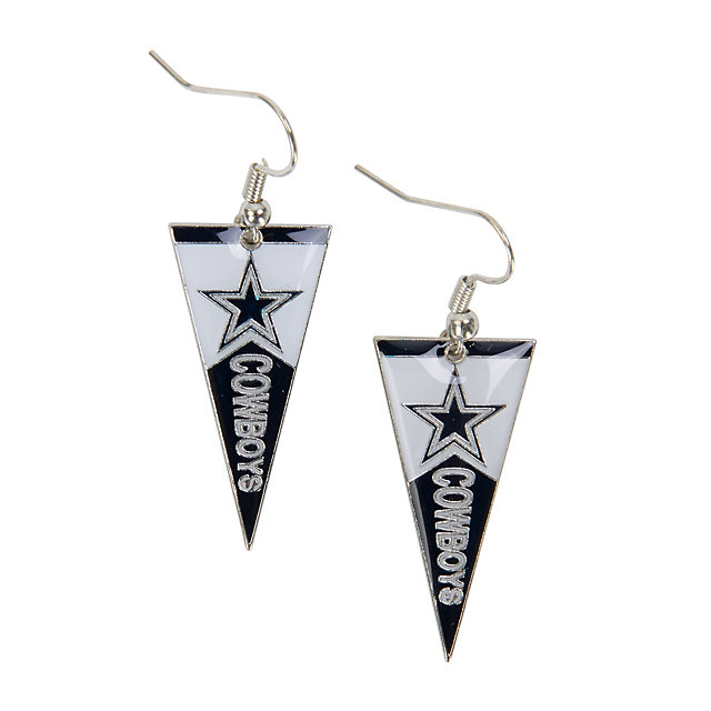 Dallas Cowboys Pennant Earrings