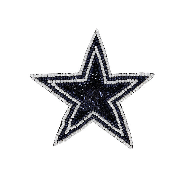 Dallas Cowboys Sequin Star Hair Clip