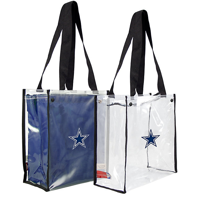 Dallas Cowboys Clear Convertible Stadium Tote Bag