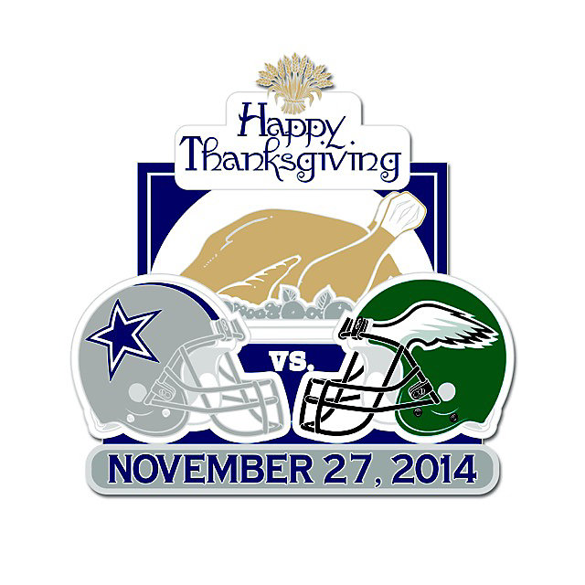 Dallas Cowboys Thanksgiving Day Lapel Pin