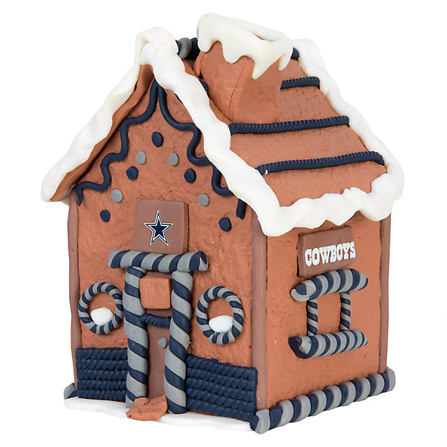Dallas Cowboys Gingerbread House