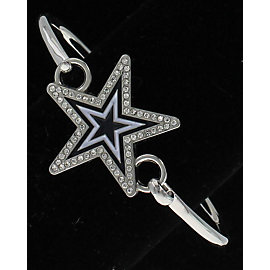 Dallas Cowboys Rhinestone Star Bracelet