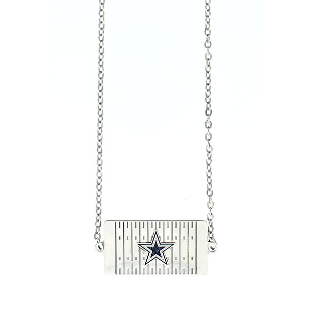 Dallas Cowboys Field Choker Star Necklace