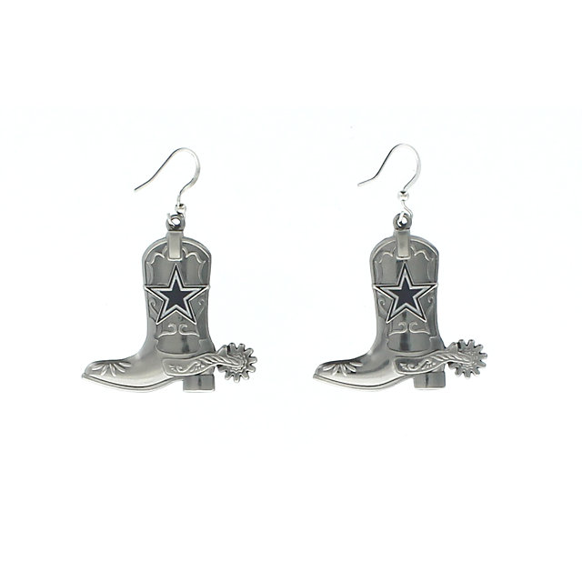 Dallas Cowboys Boot Earrings
