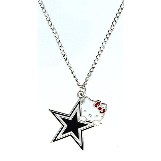 Dallas Cowboys Hello Kitty Logo Necklace