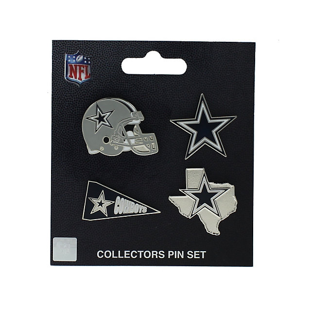 Dallas Cowboys Collectors Pin Set