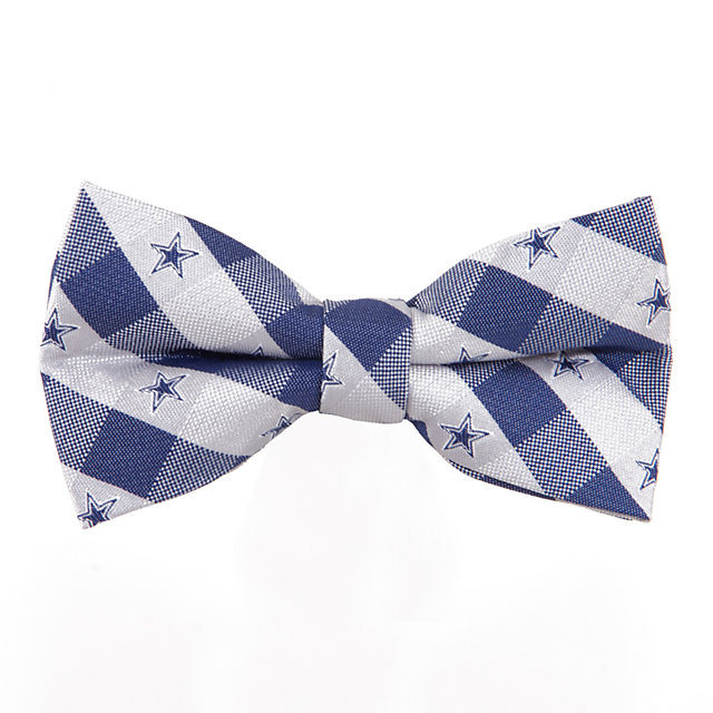 Dallas Cowboys Check Bow Tie
