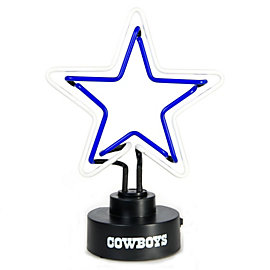 Dallas Cowboys Neon Logo Lamp