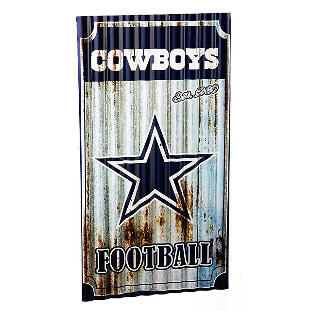 Dallas Cowboys Corrugated Metal Wall Art Home Decor Home Office Accessories Cowboys
