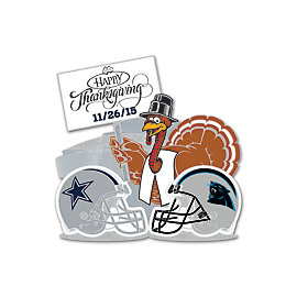 Dallas Cowboys 2015 Thanksgiving Day Lapel Pin