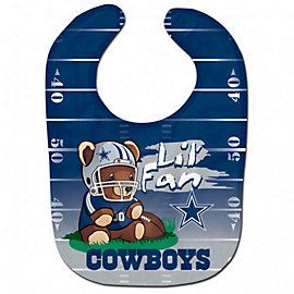 Dallas Cowboys Baby Snap Bib