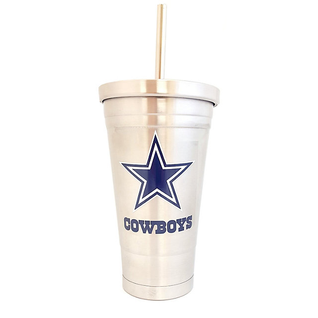 Dallas Cowboys 16 oz Stainless Steel Travel Mug