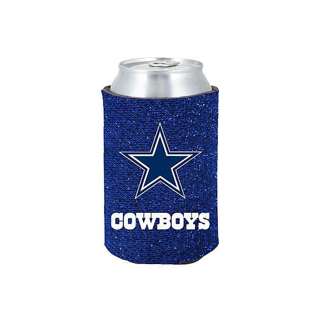 Dallas Cowboys Blue Glitter Coolie