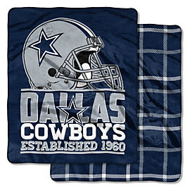 Dallas Cowboys 50 x 60 Cloud Throw