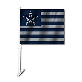 Dallas Cowboys 2-Sided USA Car Flag