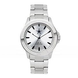 Dallas Cowboys Jack Mason Men's Silver Sport Bracelet Watch