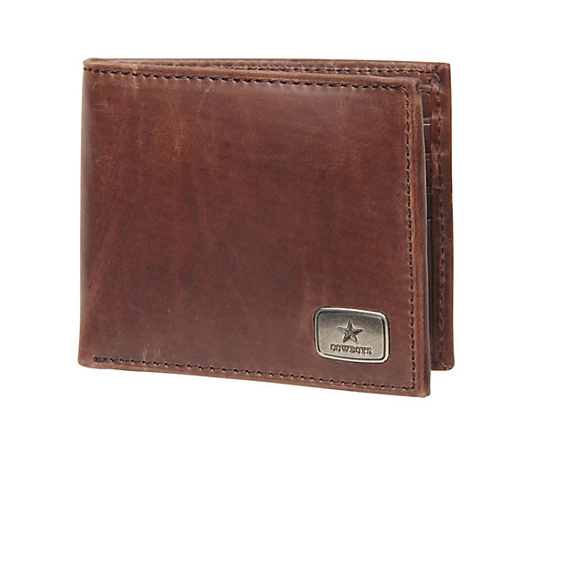 Dallas Cowboys Jack Mason Brown Legacy Traveler Wallet