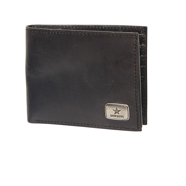 Dallas Cowboys Jack Mason Black Legacy Traveler Wallet