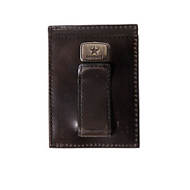 Dallas Cowboys Jack Mason Black Legacy Multicard Front Pocket Wallet