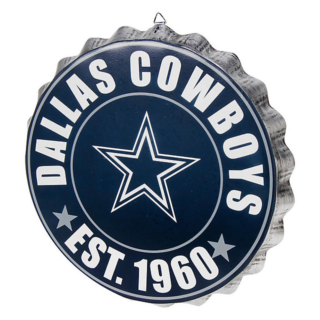 Dallas Cowboys Bottle Cap Wall Sign