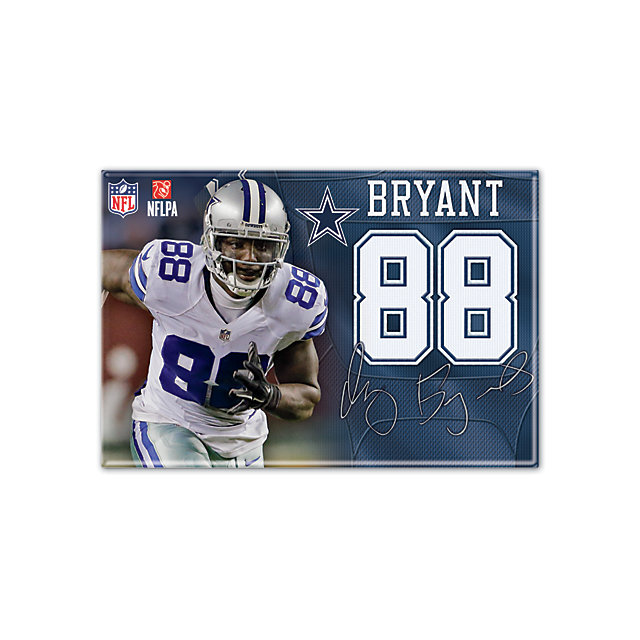 Dallas Cowboys Dez Bryant Player Magnet