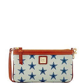 Dallas Cowboys Dooney & Bourke Large Slim Wristlet