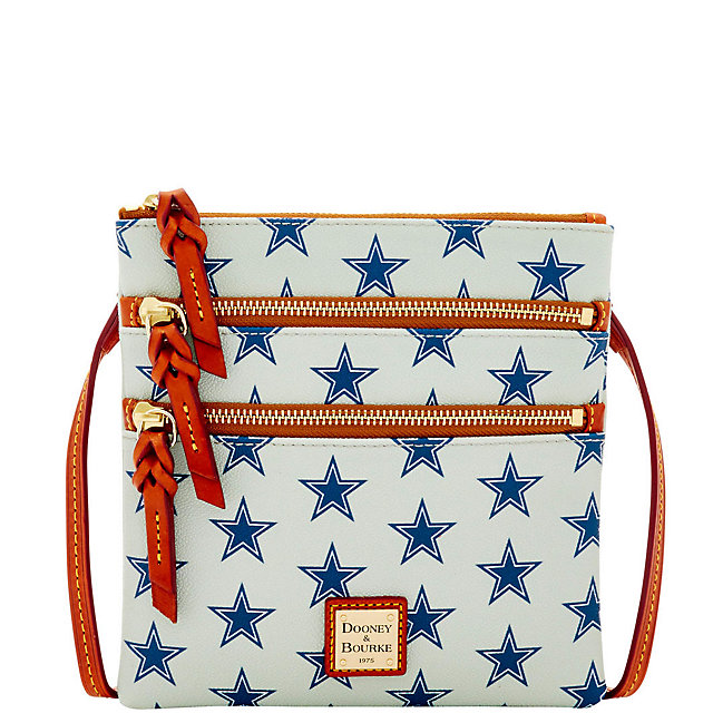 Dallas Cowboys Dooney & Bourke Triple Zip Crossbody