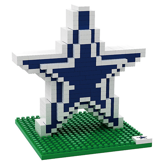 Dallas Cowboys BRXLZ 3D Logo Puzzle