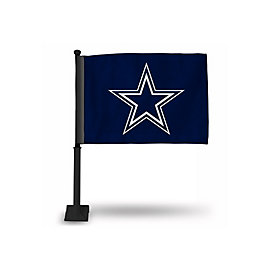 Dallas Cowboys Blue Star Car Flag
