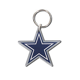Dallas Cowboys Star Logo Key Ring