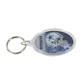 Dallas Cowboys Acrylic Key Ring