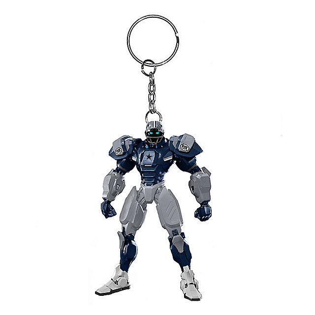 Dallas Cowboys 3-Inch Cowboys Fox Robot Keychain