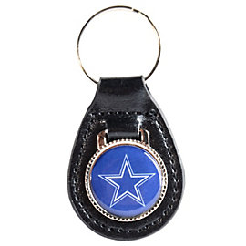 Dallas Cowboys Leather Key Fob