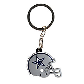 Dallas Cowboys Rubber Helmet Key Ring