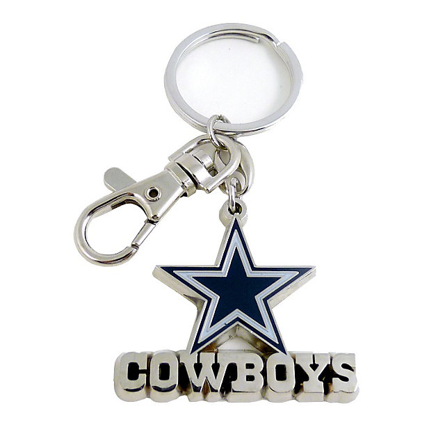 Dallas Cowboys Key Ring w/ Lobster Claw