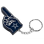 Dallas Cowboys #1 Finger Keychain
