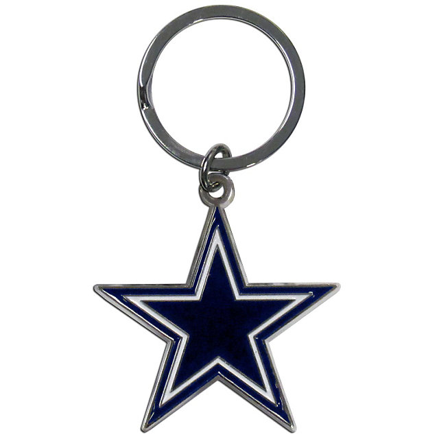 Dallas Cowboys Star Enamel Key Chain