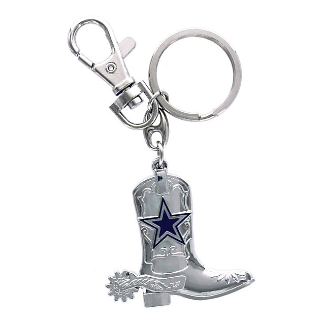 Dallas Cowboys Double-Sided Boot Keyring