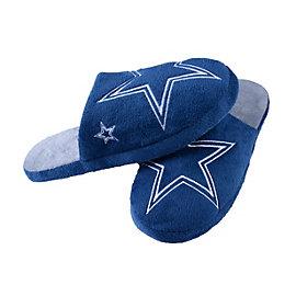 Dallas Cowboys Mens Big Logo Slipper