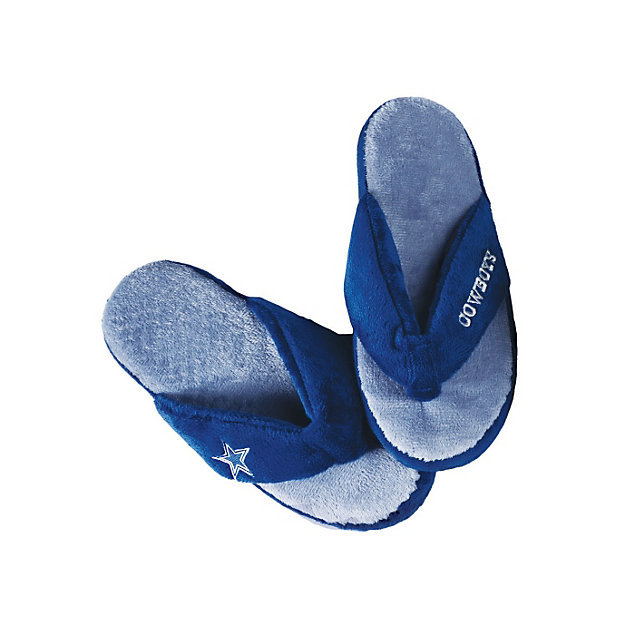 Dallas Cowboys Womens Thong Flip Flop Slipper