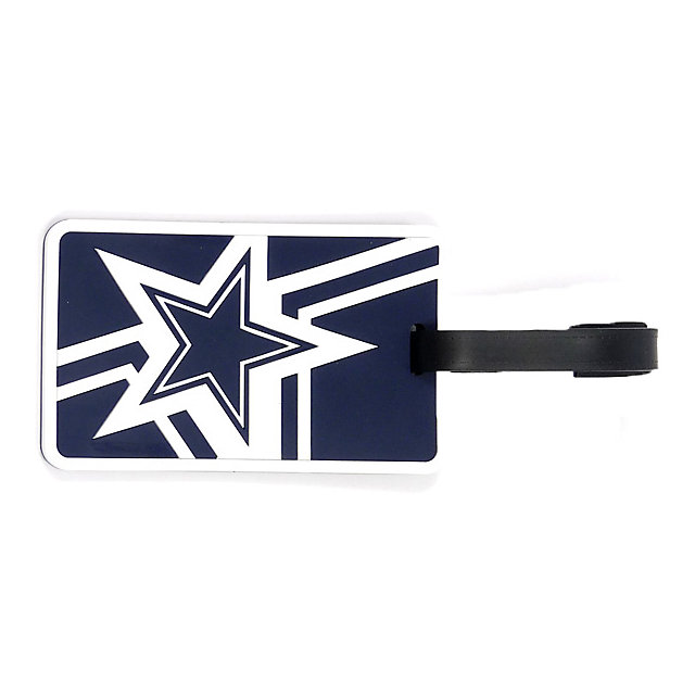 Dallas Cowboys Rubber Bag Tag