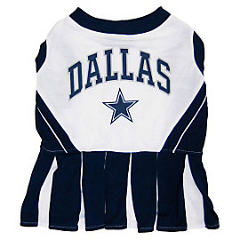 Dallas Cowboys Pet Cheerleader Outfit
