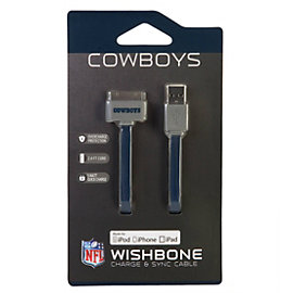Dallas Cowboys Apple Charge and Sync Cable