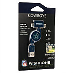 Dallas Cowboys Wishbone Micro/Mini USB Charger