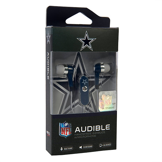 Dallas Cowboys Audible Hands Free Ear Buds