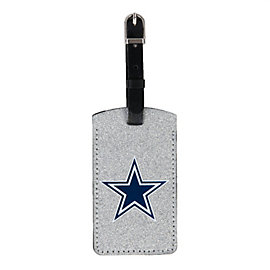 Dallas Cowboys Sparkle Luggage Tag