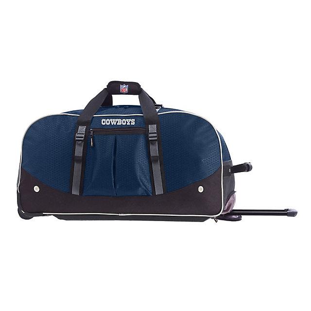 "Dallas Cowboys Wheeling Duffel Bag 24"""