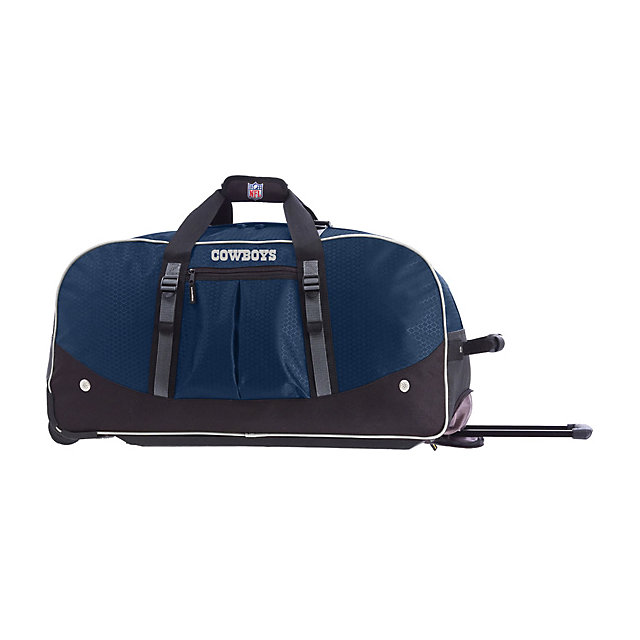 Dallas Cowboys Wheeling Duffel Bag 29-Inch