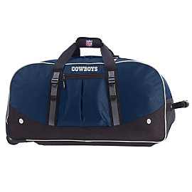 Dallas Cowboys Wheeling Duffel Bag 35